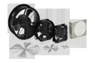 Compact Fans AC.DC.