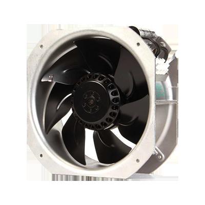 AC Fans AC Axial Fan, 280x280x80mm, 230VAC, 1077CFM, 50Hz, 127W, 66dBA, 2550RPM, Ball Bearing